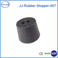 silicone, viton, NR rubber stopper with one hole or two holes