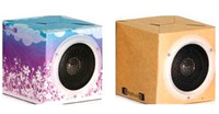 Best Selling Foldable Gift Recycled Paper Craft Audio Speaker