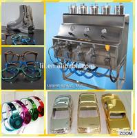 Nickel Gold chrome plating spray machine& chrome spray paint machine NO. LYH-CPSM100 for decorations