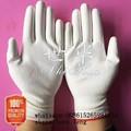 Seguridad PU1350 2015 nuevo diseño del precio barato 13 G negro PU guantes de trabajo palma recubierta, guantes de trabajo, suministros seguridad en el trabajo