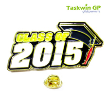 Sale online alibaba China custom badge pin/Digital metal collar pins for 2015