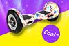 China factory cheap two wheels electric chariot bike racing games/car racing games