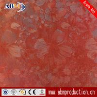 red brick floor ceramic tiles metal glazed tiles with low price