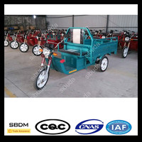 SBDM Electric Driving Type Open Body Cargo Utility Tricycle on Sale