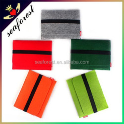 factory wholesale cheap felted wool pad bag,felt laptop bag,cheap laptop bag