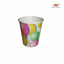 food grade paper Disposable Juice Water Cups Tumbler 180ml 6oz Value Cheap