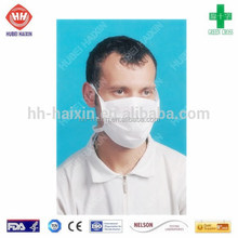 Safety Nonwoven Disposable 3-Ply Face Mask CE/ISO13485/FDA/Nelson Approved