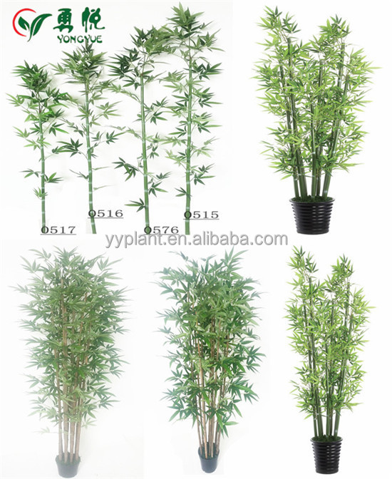 Vente en gros m en bambou artificiel arbre pour for Arbres artificiels pour exterieur
