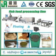floating fish feed puffed machine