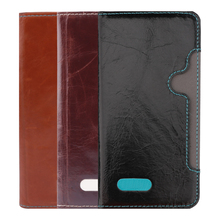 New arrival dust prevention OEM & ODM leather flip case cover for huawei y625