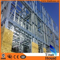 High Quality China Manufacture Luxury Lightweight Steel Frame