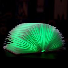 2015 Christmas Gift Warm USB LED Lamp Soft 4 colors Book Light Foldable LED Table Lamp