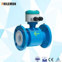 intelligent industrial distilled chemical water flow meter