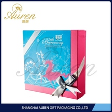 Export products in Middle East countries lovely style ribbon folding paper rectangle gift b