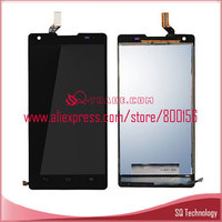 Mobile Phone LCD Display For Huawei Ascend G700 With Black Touch Assembly
