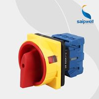 Saip 16A, 20A, 25A, 32A, 63A, 100A automatic electrical change-over switch