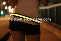 LED light up safety back pain heat belt