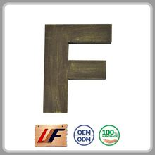 Wholesale Price Handicraft Article Adorn Natural Color Letter Shaped Wall-Arts China Art