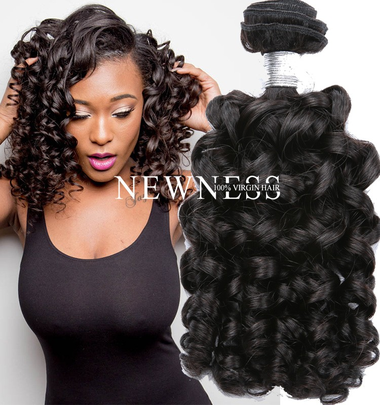 Thick Bottom Top Virgin Cambodian Kinky Curly Hair Weaves 4c Afro