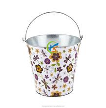2015 hot sale products Galvanized metal Garden Bucket