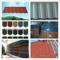 Suit Nigeria Building Material/stone coated roof tile/sheet