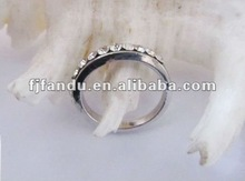 fashiong adjustable zinc alloy ring