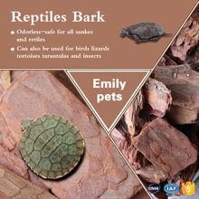 Premium Pine Reptile Bark Natural Reptile Bedding
