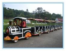 Electric mini train playground trackless train,model train track for sale