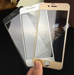 2015 new full boday Titanium Alloy Tempered Glass Full Screen For iPhone 6 6 plus