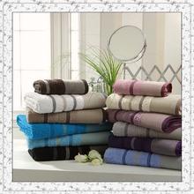 Manufacturer professional custom 100% cotton gift brand towel set