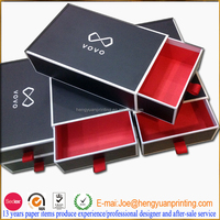 High quality perfume box packaging with drawer box structure