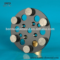 Diamond abrasive tools flap wheel with 6 round segments