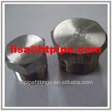 A182 F53 threaded square head plug