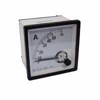 Ammeter Voltmeter Frequency meter Power Wattmeter Power Factor COS Meter 89T2 72x72mm 96x96mm AC and DC Analog Panel Meter