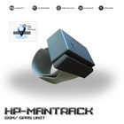 Rastreador Pessoal máxima segurança e precisão, com e-mail múltiplos e comunicação SMS / Internet - Mod.HPMANTRACK