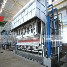 18T-50T double tilting raffinal aluminium melting holding furnace