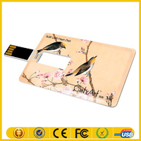 business trip usb flash 2015 full capacity flash drive credit card usb flash drive