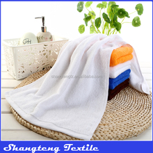 Custom 100% Cotton White Hand Towel Face Towel/Hotel Bath Cotton Towel
