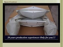 CE 300cm Cando Hypalon/PVC Inflatable aluminum hull rib
