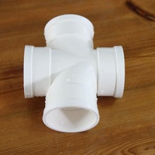 Cold water UPVC plastic pipe fittings pipe fitting pvc fittings cross tee