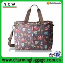 elephant Nylon Nappy Bag Custom Tote Diaper Bag