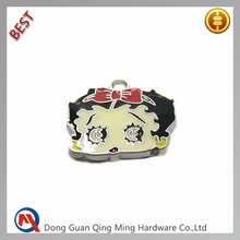 Cheap Custom Small Metal Ornament Decorative For Bag