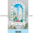 2014 Sweet Virgin Mary 3D picture/ jesus/ god /PET lenticular decoration picture