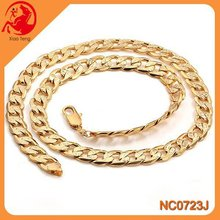 Men'S Stainless Chain Necklace,Necklace Stainless Steel,Gold Big Link Chain