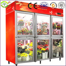New design most popular Commercial Refrigerated For Flower Showcase
