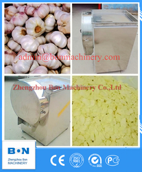 High Efficiency Automatic Electric Garlic Slicer Garlic Slicing Machine