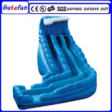 superior quality material commercial giant kids party inflatable toboggan slide exciting inflatable slide