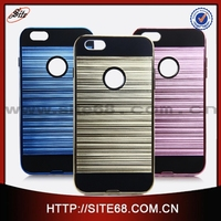 new coming korea brand tpu pc factory wholesale cell phone case for iphone 6