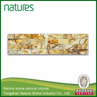 Tongshan wooden non-slip stack stone wall cladding price