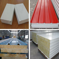 eps sandwich panel clean room /high quality baosteel sandwich panel building materials